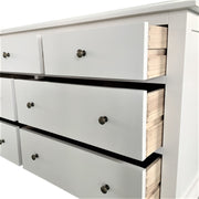 Adele Wide Dresser - Matt White