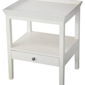 Santiago Bedside Table or Side Table - White