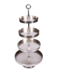 Metal Cake Stand - 4 Tiered - Allissias Attic & Vintage French Style  - 1