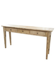 Elm 3 Drawer Console - Allissias Attic & Vintage French Style  - 1