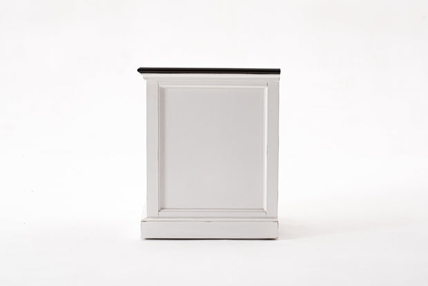 Hamptons Style Bedside Table with Accent