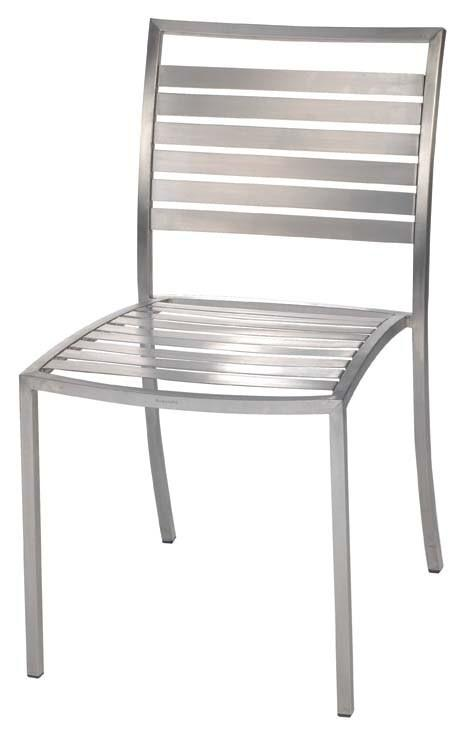 Stainless Steel Tech Chair