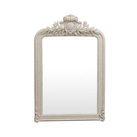 Trelise Mirror - White Ornate Frame