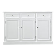 Hamptons Styled White Sideboard