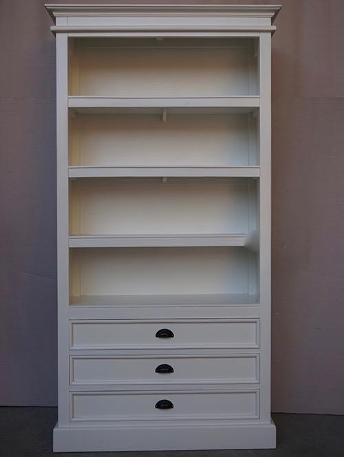 Hampton Bookcase with 3 Drawers
