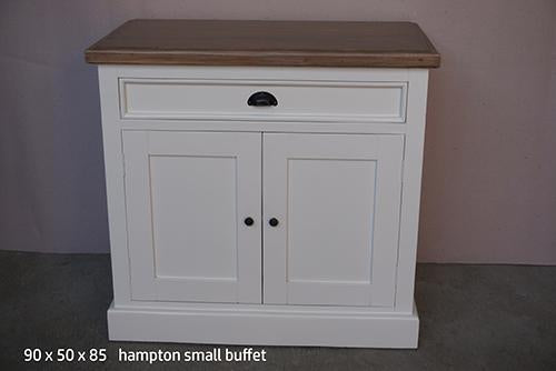 Buffet 2 Door / 1 Drawer - White