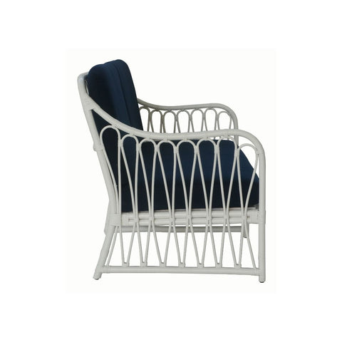 Antigua Rattan 2.5 Seater - White