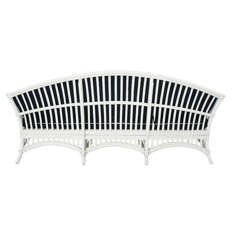Barbados 2.5 Seater - White