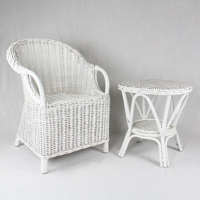 Sophia Chair & Table - Natural or White