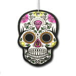 Day Of The Dead Skull Air Freshener