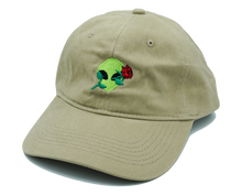 Load image into Gallery viewer, Alien Rose Dad Hat
