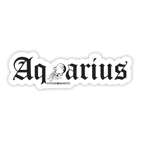 Aquarius Sticker
