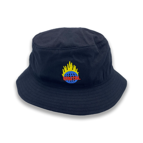 Brutal Flame Bucket Hat