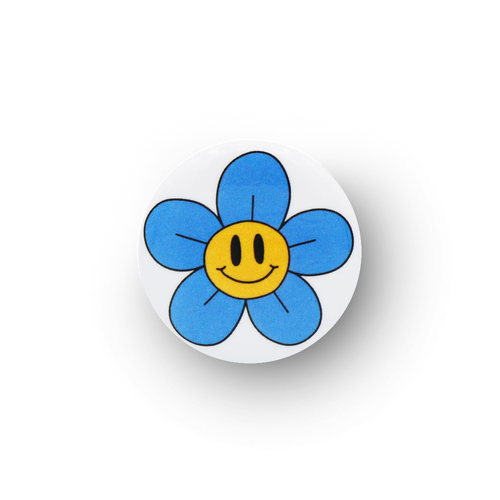 Happy Flower Button
