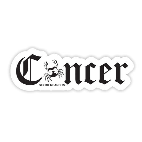 Cancer Sticker
