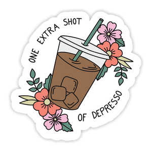 Depresso Sticker