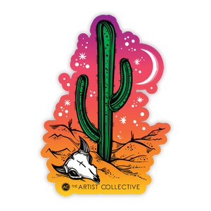Desert Nights Sticker