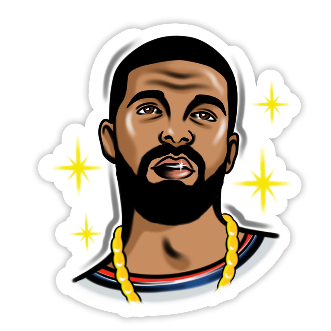 Drizzy Brush Sticker
