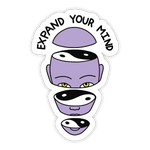 Expand Your Mind Sticker