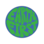 Earth First Sticker
