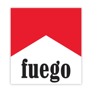 Fuego Man Sticker
