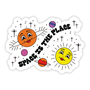Happy Planets Sticker