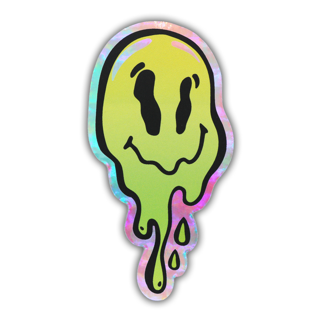 Trip Face Holographic Sticker