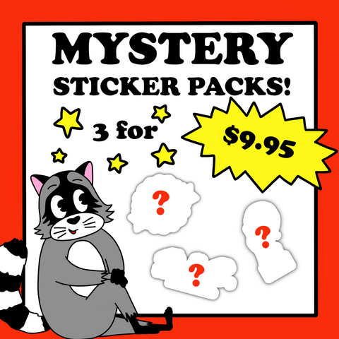 Mystery 3 Sticker Bag