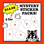Mystery 5 Sticker Bag