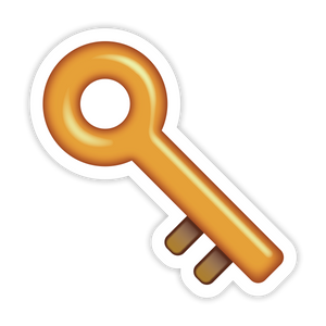 Key Emoji  Sticker