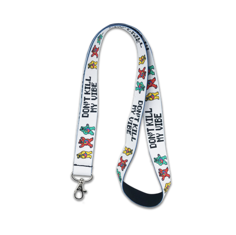 Kill My Vibe Lanyard