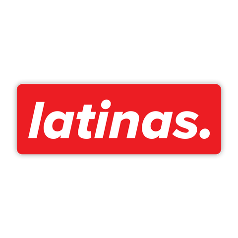 Latinas Sticker