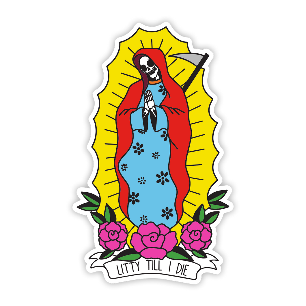 Mother Mary Sticker