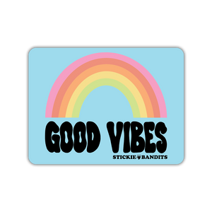 Good Vibes Rainbow Magnet