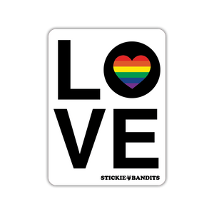 Love Rainbow Magnet