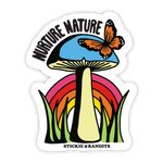 Nurture Nature Sticker