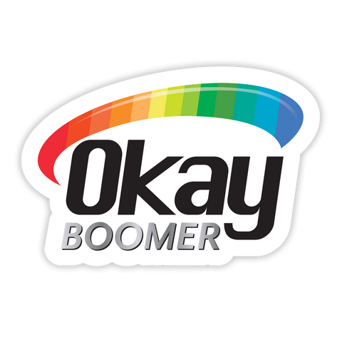 OK Boomer Vitamin Sticker