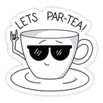 Par-tea Sticker