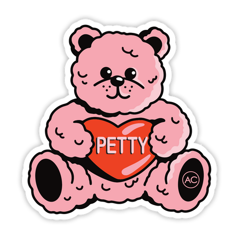 Petty Bear Sticker