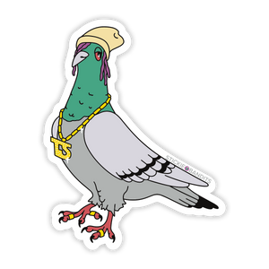 Trap Pigeon Sticker