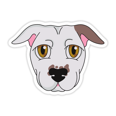 Anime Pitbull Sticker