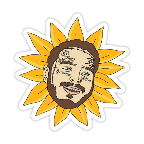 Posty Flower Sticker