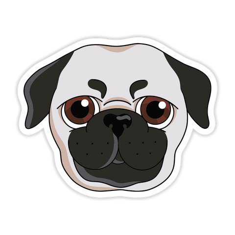 Anime Pugg Sticker