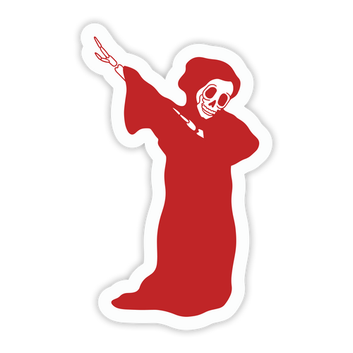 Reaper Dab Sticker