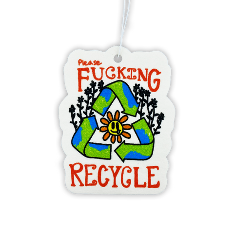 Please Recycle Air Freshener
