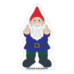 Finger Gnome Sticker