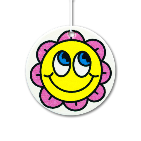 Smiley Flower Air Freshener
