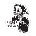 Hate At First Sight Sticker