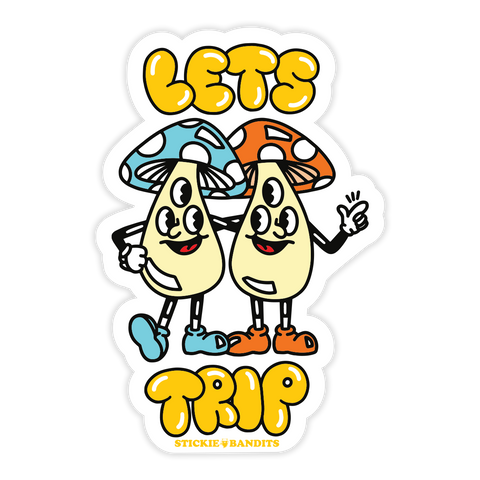 Let's Trip Sticker