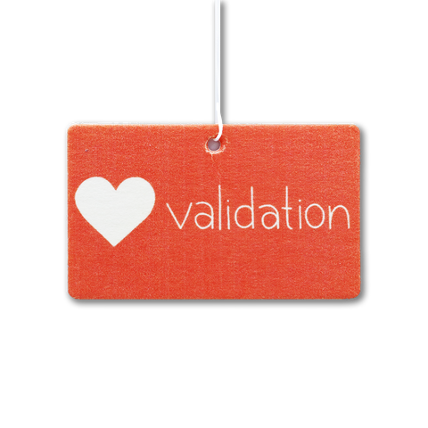 Validation Air Freshener